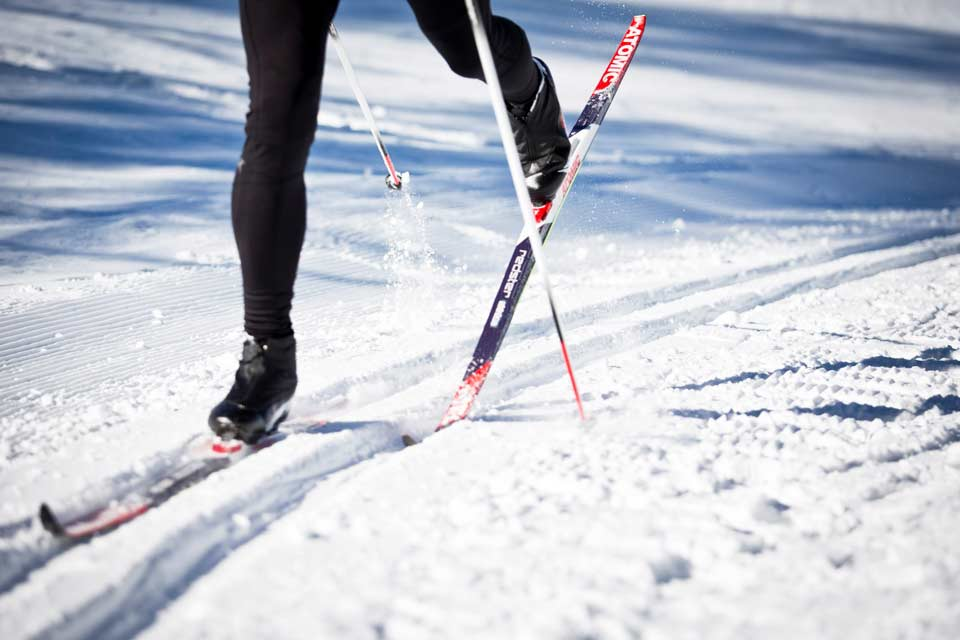 Cross-country-skiing in Oberstdorf – On the tracks of the champions
