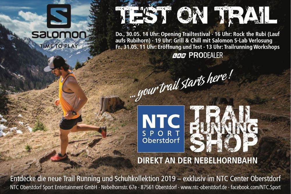 NTC Test on Trail powered by SALOMON